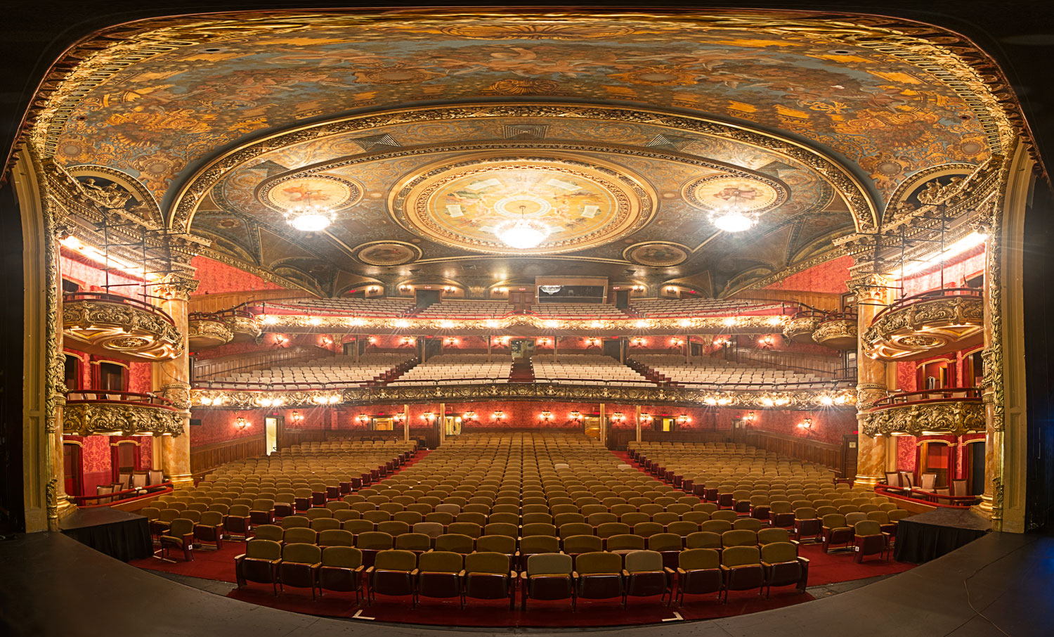 Colonial Theater Boston Geoffrey Goldberg Photography